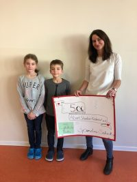 Spendenscheckübergabe Grundschule